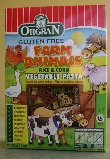 Orgran Farm Animal Pasta